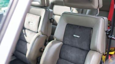 Audi Sport Quattro - Seats