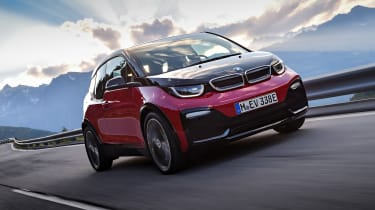 BMW i3s - driving front 2