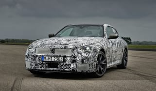 BMW M240i prototype – front quarter static