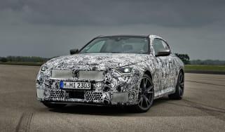 BMW M240i prototype – front quarter static