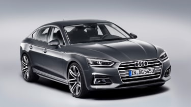 Audi A5 Sportback g-tron front three-quarters