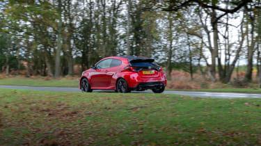 2020 Toyota GR Yaris Red - rear quarter