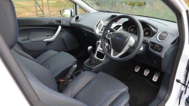 Ford Fiesta S1600 interior
