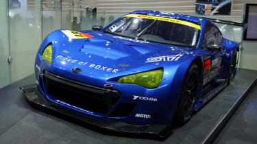 Subaru BRZ GT300 racing car