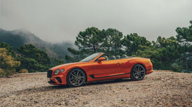 Bentley Continental GT Convertible drive - side