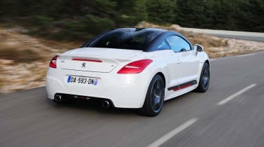 Peugeot RCZ R white rear