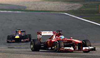 Fernando Alonso Ferrari Formula 1 win China GP 2013