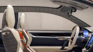 Volvo Concept Estate interior seats