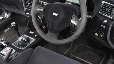 Revolution Project STI Nurburgring Subaru Impreza interior front seat