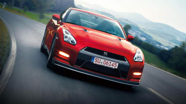 Nissan GT-R 2014 model year red