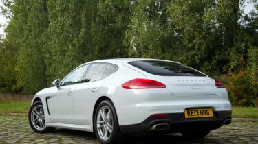 Porsche Panamera Diesel new rear styling