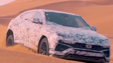 Lamborghini Urus – off road