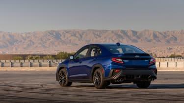 All-new 2022 Subaru WRX GT – rear quarter