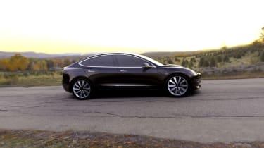 Tesla Model 3 black