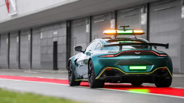 Aston Martin Vantage safety car - rear static