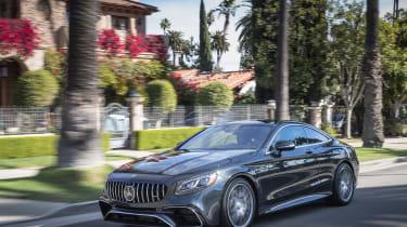 Mercedes-AMG S36 Coupe - front quarter