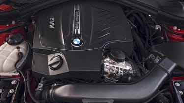 New BMW 4-series coupe engine