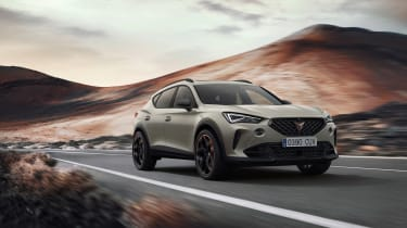 Cupra Formentor VZ5 revealed front quarter