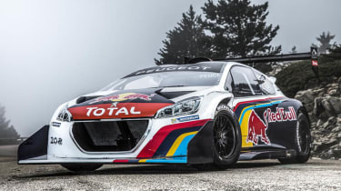 Peugeot 208 T16 Pikes Peak video Sebastien Loeb