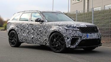 Range Rover Velar SVR proto - front quarter