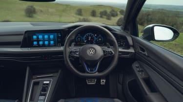 Volkswagen Golf R 2021 review - dash