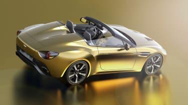 Aston Martin V12 Vantage Zagato R-Reforged rear render