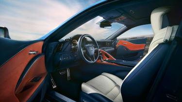 Lexus LC 500 Structural Blue edition - interior