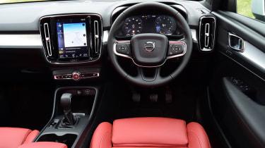 Volvo XC40 - interior