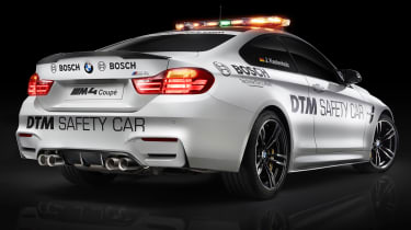 BMW shows new M4 safety car
