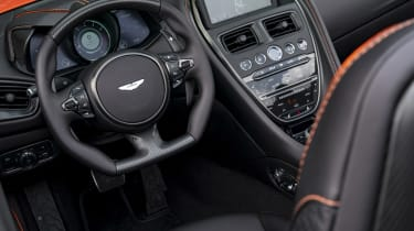 Aston Martin DBS Superleggera Volante interior 2