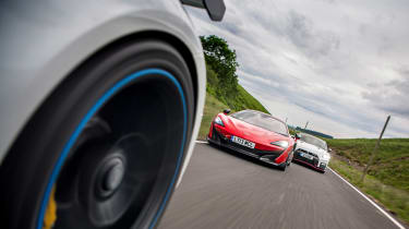 992 GT3 group test – side bolt on
