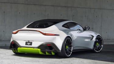 Tuned Aston Martin Vantage