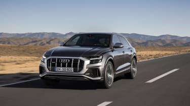 Audi SQ8 TDI - on road
