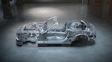 Mercedes SL structure 4