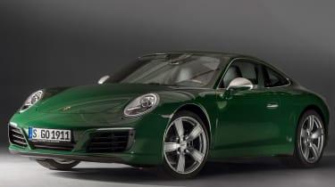 Porsche 911 Carrera - 1 millionth car front