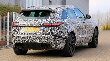 Range Rover Velar SVR proto - rear quarter