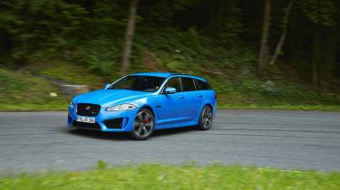 Jaguar XFR-S Sportbrake drift