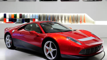 Ferrari SP12 EC revealed