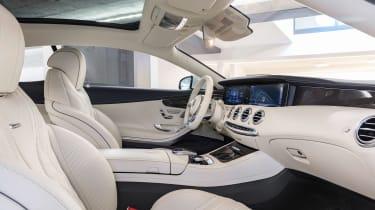 Mercedes S 63 Coupe - interior