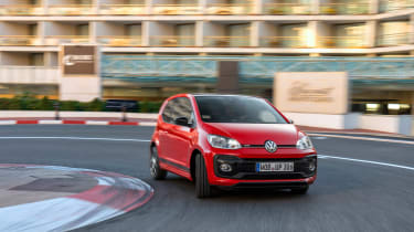 Volkswagen Up GTI 2018 driving