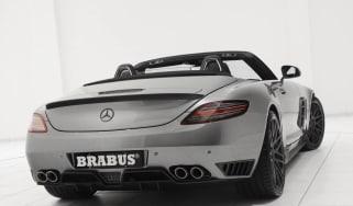 Brabus SLS AMG Roadster rear