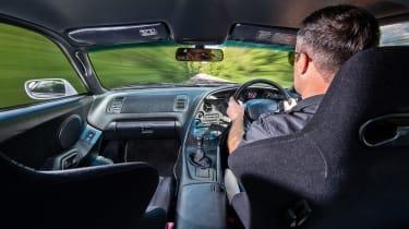 A80 Toyota Supra cabin