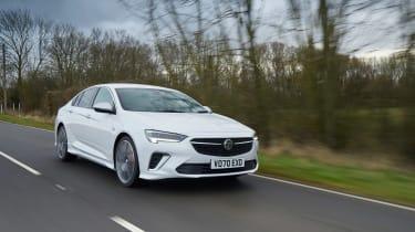 Vauxhall Insignia GSi – tracking