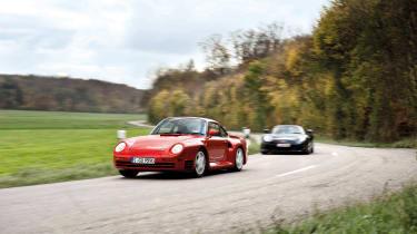 Porsche Carrera GT & 959 - driving 2