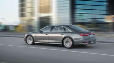 All-new Audi A8 - rear grey