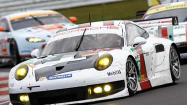 2013 Porsche 911 RSR race debut