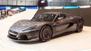 Rimac C_Two - front show