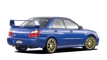 Subaru Impreza rear three quarter
