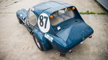 Jackie Stewart Marcos GT Xylon