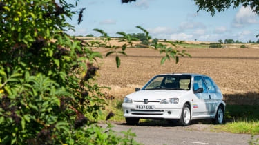 Peugeot 106 Rallye – front quarter